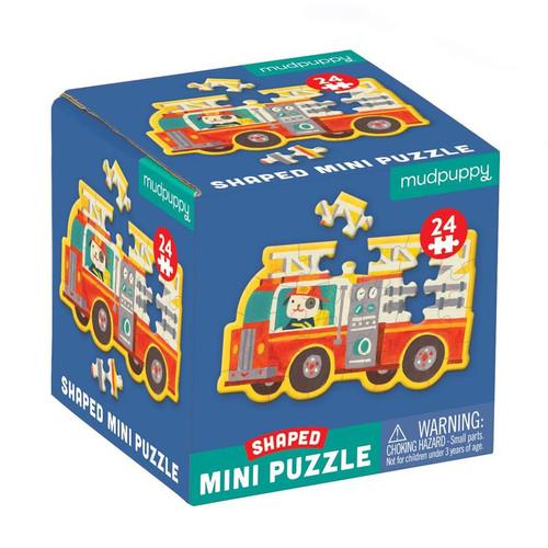 Shaped Mini Puzzle Firetruck