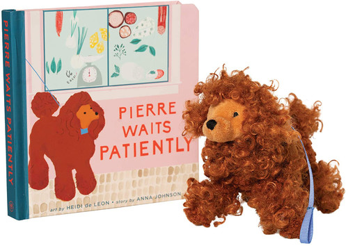 Pierre Waits Patiently + Poodle Mini Plush