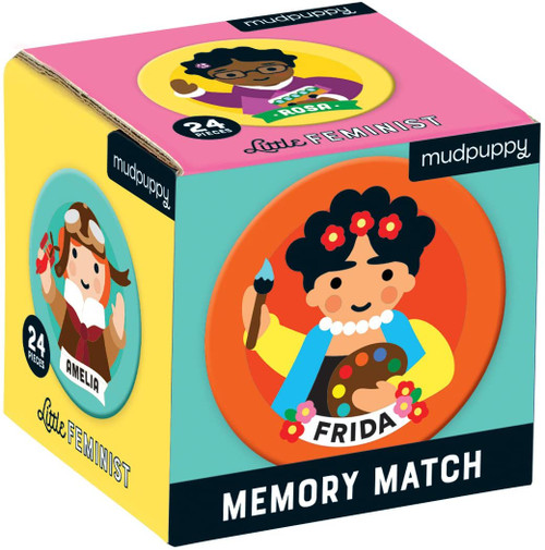 Memory Match Little Feminist