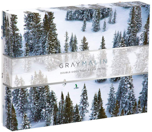 500 Piece Gray Malin Snow