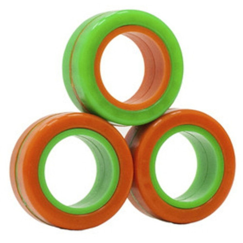 Fingears Orange-Green Med.