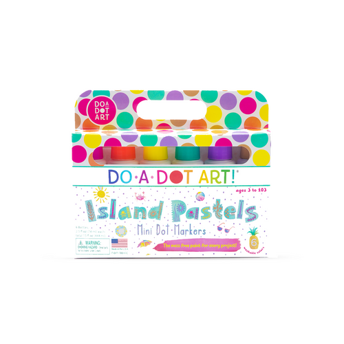 Island Pastels Mini-Dot Marker Set