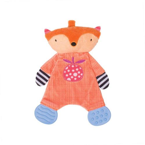Teether Fox Snuggle Blankie