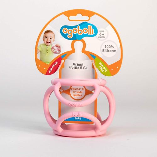 Grippi Bottle Ball - Pink