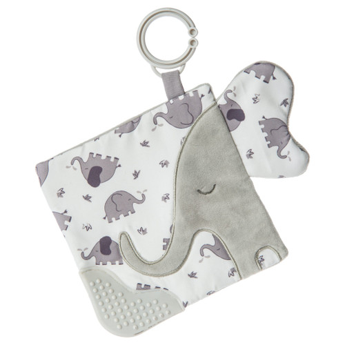 Afrique Elephant Crinkle Teether
