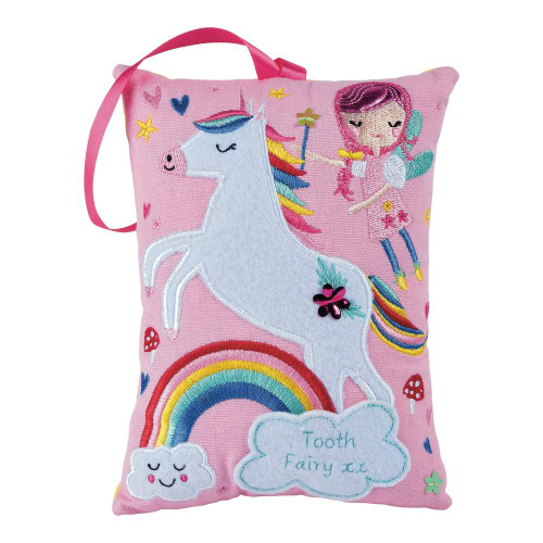 Tooth Fairy Cushion Unicorn