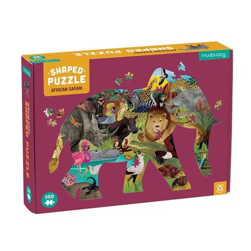 300 Piece Shaped Puzzle African Safari