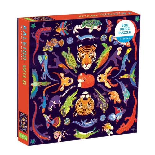 500 Piece Puzzle Kaleido-Wild