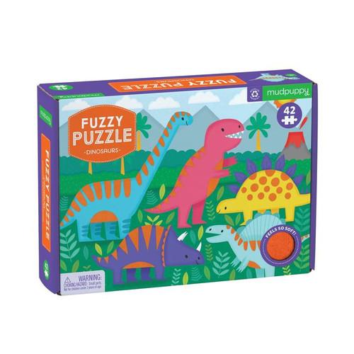 Fuzzy Puzzle Dinosaur