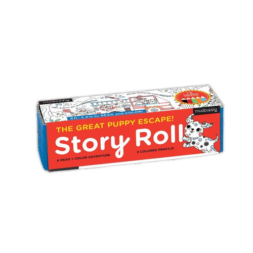 Story Roll The Great Puppy Escape!