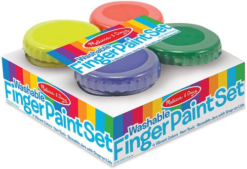 Washable Finger Paint Set