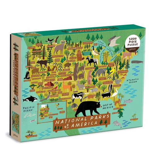 1000 Piece National Parks of America