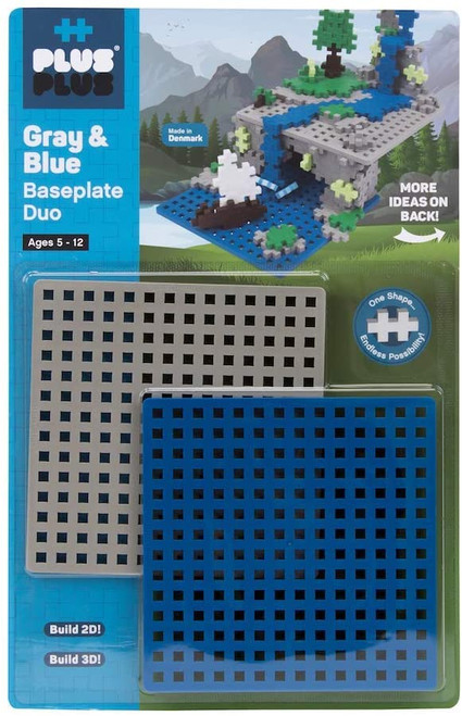 Baseplate Duo Gray & Blue