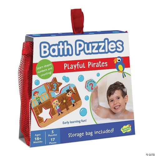 Bath Puzzles Playful Pirates