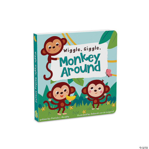 Wiggle, Giggle, Monkey Around Board Book