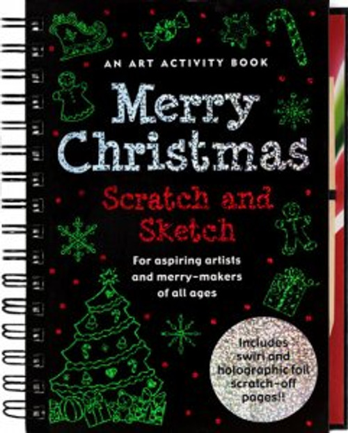 Scratch And Sketch Merry Christmas