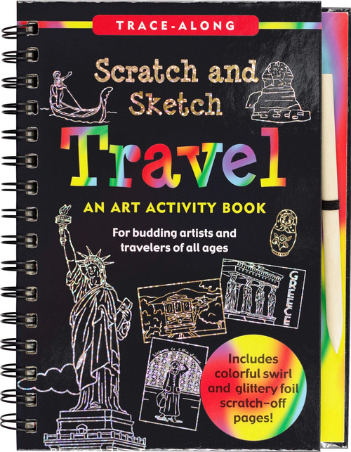 Scratch and Sketch Travel