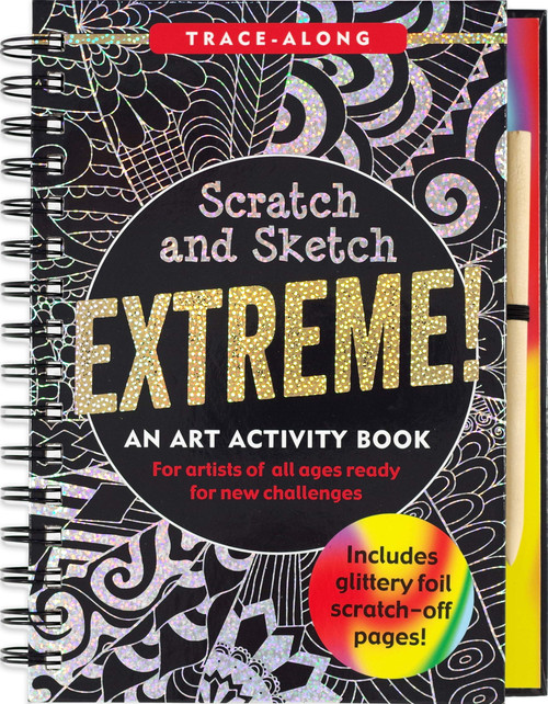 Scratch and Sketch Extreme Fantasy Art