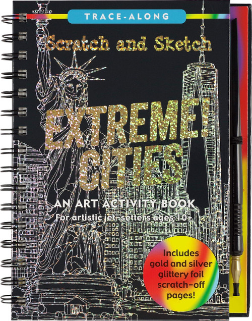 Scratch and Sketch Extreme Cities