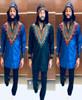 Men's Hooded Long Sleeve Shirt Dashiki Designs