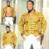 Ankara Jacket Colored