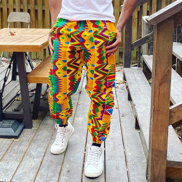 Colors Prints Joggers Pants