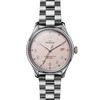 Vinton 3HD 38mm, Silver Bracelet, Light Pink Dial