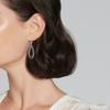 Kwiat Echo Teardrop Earrings with Diamonds