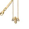 "18K Gold Diamond Critter Bee ""Creativity"" Necklace"
