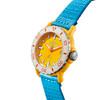 Shinola The Sea Creatures 40mm Detrola Watch: Yellow/Light Blue