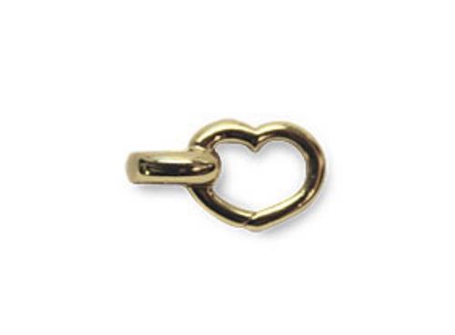 Aaron Basha Open Link-Heart Bracelet
