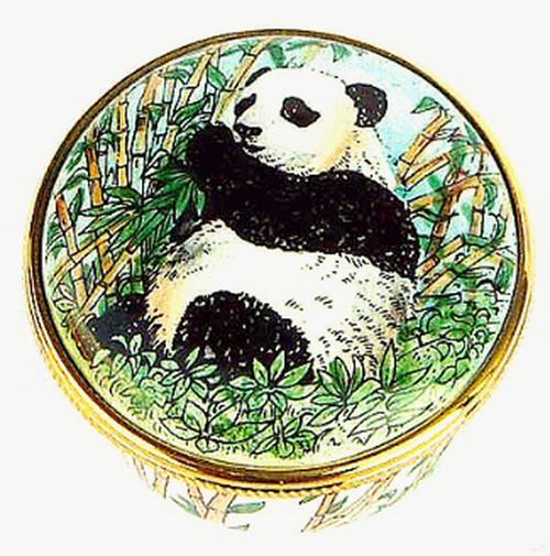 Staffordshire Panda