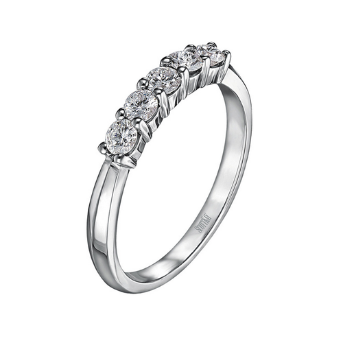 Contemporary Collection  5 Stone Ring .50ct