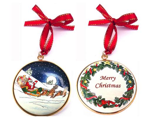 Staffordshire Christmas Ornament #2