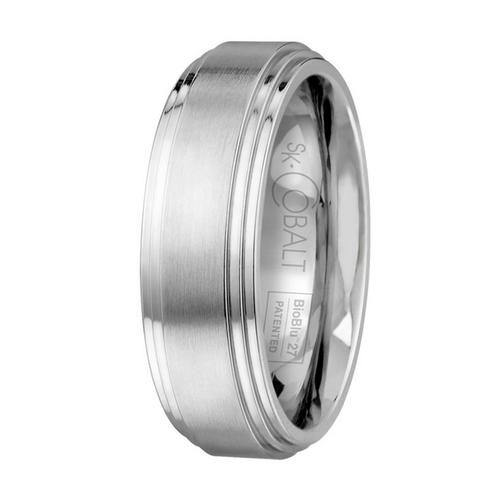 Scott Kay Prime Wedding Band Double Graded Edge
