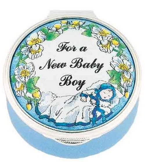 Staffordshire For a New Baby Boy
