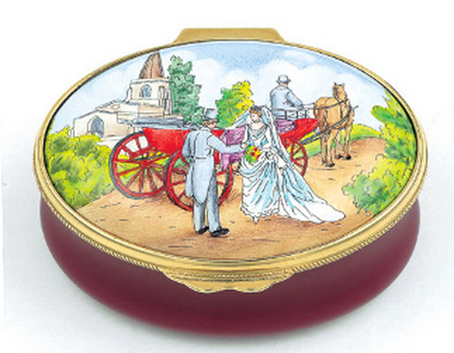 Staffordshire Wedding Box