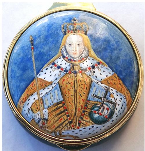 Staffordshire Heritage Queen Elizabeth