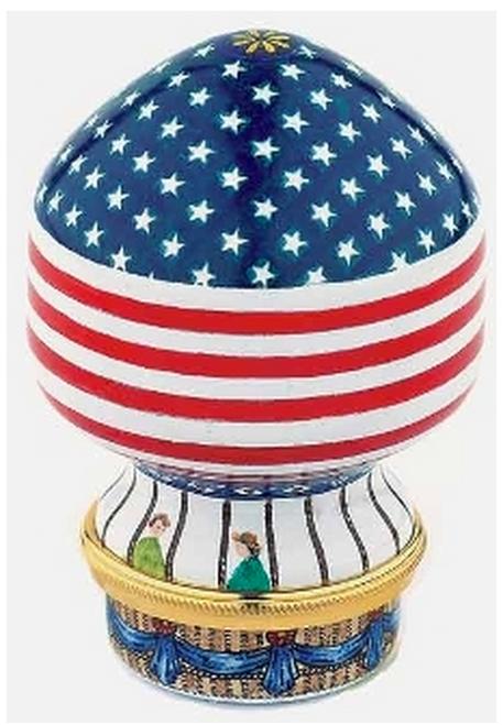 Staffordshire Balloon, USA