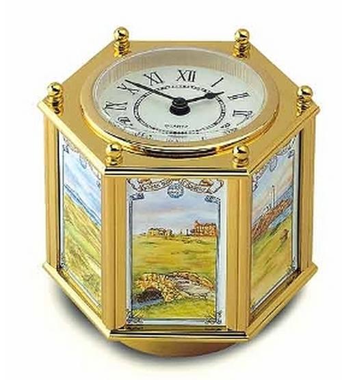 Staffordshire Golfing Clock