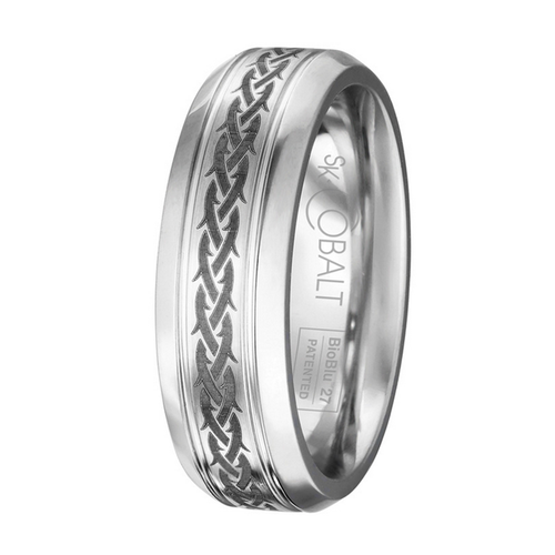 Scott Kay Native Wedding Band Braided Thorns
