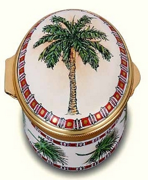 Staffordshire Palm Tree