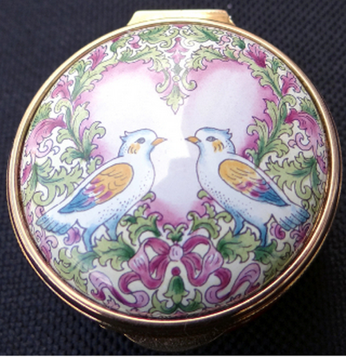 Staffordshire Valentine's Doves