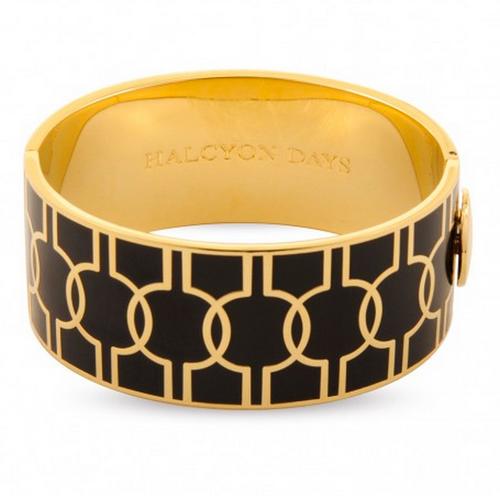HALCYON DAYS GEOMETRIC BLACK & GOLD