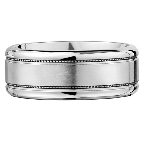 Scott Kay Prime Wedding Band Double Braided Stripes