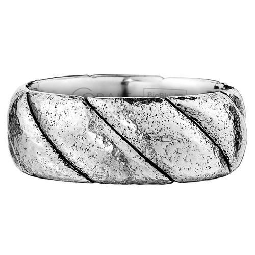 Scott Kay Braid Wedding Band Thick