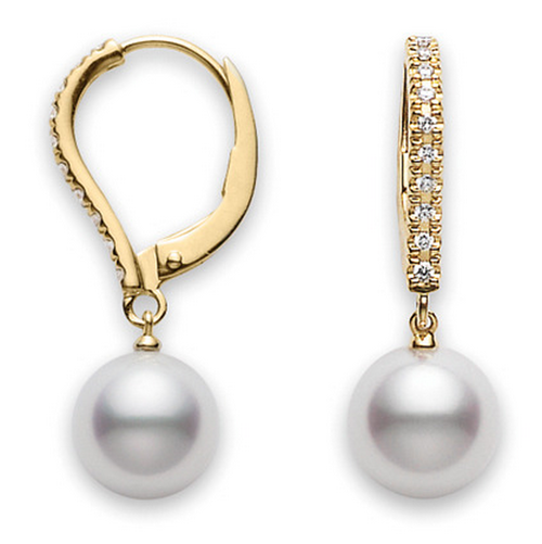 Mikimoto Classic Elegance - Lever Back Earrings