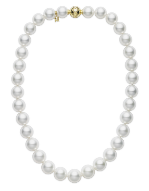 Mikimoto White South Sea Pearl Necklace