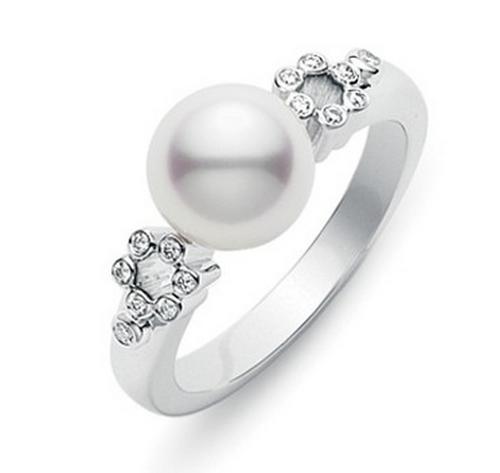 Mikimoto Lace Ring