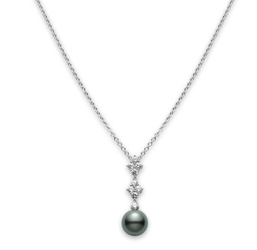 Mikimoto Classic Elegance Black South Sea Pendant